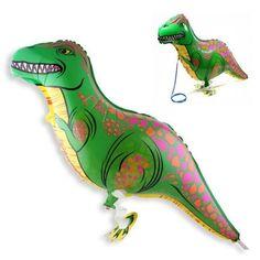 10 stks/partij wandelen Dinosaur folie ballon kinderspeelgoed birthday ballonnen