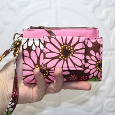 ROOMY TECH Cell Phone Wallet Wristlet for iPhone or Galaxy Smart Phones by Cucio on Etsy, $34.95