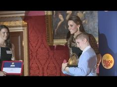 Kate hosts children's mental health awards at Kensington Palace - YouTube
