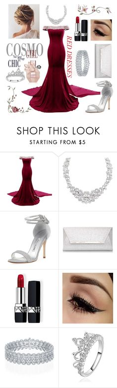 """""""Untitled #18"""" by modabeauty ❤ liked on Polyvore featuring Henri Bendel, Manolo Blahnik, Dorothy Perkins and Christian Dior"""