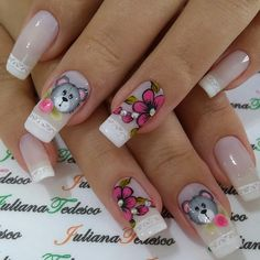New nails french rose art designs ideas Gold Manicure, Rose Gold Nails, Blue Nails, Manicure And Pedicure, Pedicure Tools, Summer Toe Nails, Spring Nails, Christmas Nail Designs, Christmas Nail Art