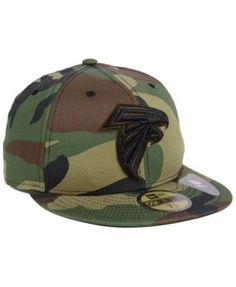 new concept c105a 5ae0e New Era Atlanta Falcons Woodland Prism Pack 59FIFTY-fitted Cap - Green 7 1 2