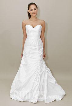 Brides.com: . Wedding dress by Heidi Elnora