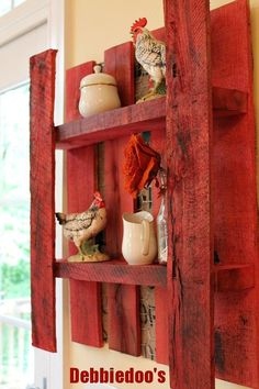 Pallet idea....this is cute