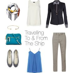 Cruise Fashion - Travelling To & From The Ship on Polyvore featuring Dorothy Perkins, Armani Jeans, Neiman Marcus, Jeweliq, Loewe and modern #Cruise #outfits #fashion
