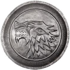 [Game Of Thrones: Shield Pin: Stark Shield (Product Image)]