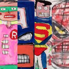 JEAN MICHEL BASQUIAT'S SUPERHEROES Jean Michel Basquiat Art, Jm Basquiat, Graffiti, Neo Expressionism, Life Paint, Art Moderne, Keith Haring, Andy Warhol, Vincent Van Gogh