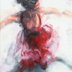 "Saatchi Online Artist: Evelyn Hamilton; Oil, Painting ""Dance"""