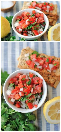 Pico de Gallo with Lemon Zest