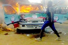 Arson: Men Who Burnt GEJ Campaign Bus Arrested   The Special Taskforce on Jos crisis has announced that it has arrested the suspects that set ablaze two campaign buses of President Goodluck Jonathan. The campaign vehicles, branded with Jonathan's campaign pictures, were set ablaze by youth in Jos on Saturday. - See more at: http://firstafricanews.ng/index.php?dbs=openlist&s=11383#sthash.0VMCGuKQ.dpuf