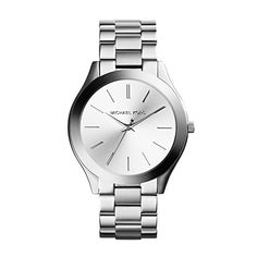 Women  Watches - Michael Kors Womens Runway SilverTone Watch MK3178 ** Continue to the product at the image link. (This is an Amazon affiliate link)