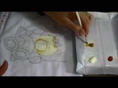 Ursinha Giovana - Parte 1 - Como pintar fraldas - Ariane Cerveira