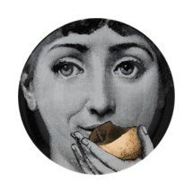 Adam and Eve?  Fornasetti Theme & Variations Plate