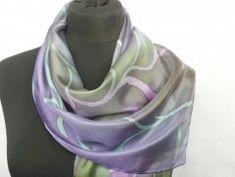Simira - Ohnivý květ. Luxusní hedvábný šátek - jena Fashion, Moda, Fashion Styles, Fashion Illustrations