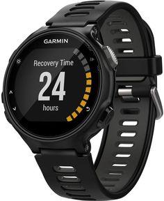 Garmin Forerunner Touchscreen Sport Band Running GPS Watch, Black and Gray Army Watches, Sport Watches, Watches For Men, Gps Watches, Popular Watches, Smartwatch, Running Gps, Running Watch, Fitness Tracker