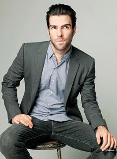 Zachary Quinto. ❤️ I'm just saying that if you don't watch American Horror Story, you should start. Right meow.