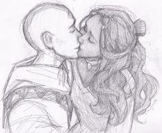 Props to this artist! Always Aang and Katara. No Zuko!