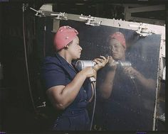 Rosie the Riveter Too! by Black History Album, via Flickr