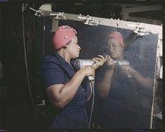 Rosie the Riveter Too! by Black History Album, via Flickr