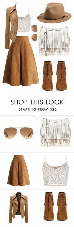 """""""Untitled #22"""" by yangjingyi ❤ liked on Polyvore featuring Stella & Dot, Rebecca Minkoff, Chicwish, New Look, Yves Saint Laurent and rag & bone"""