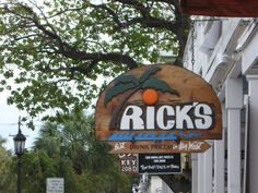 Rick's, Key West Key West Florida, Florida Home, Florida Keys, Happy Things, Places Ive Been, Vacations, Survival, Fantasy, Spaces