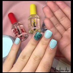 Manicure At Home, Diy Manicure, Diy Nails, Cute Nails, Pretty Nails, Polygel Nails, Hair And Nails, Dipped Nails, Dream Nails