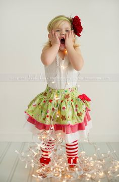 © Heidi Hope Photography #photographer #photography #portrait #3year #child #holiday #lights #christmas
