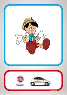 Fiat 500: Pinocchio