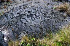 Petroglyphs, Big Island of Hawaii