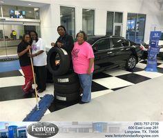 #HappyAnniversary to Tanya Forman on your 2014 #Honda #Accord Sedan from Everyone at Fenton Honda of Longview!