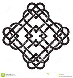 Illustration of Vector Illustration of Celtic Knot Motif vector art, clipart and stock vectors. Celtic Tattoo For Women, Celtic Knot Tattoo, Celtic Tattoos, Celtic Quilt, Celtic Symbols, Celtic Art, Celtic Mandala, Motif Vector, Vector Vector