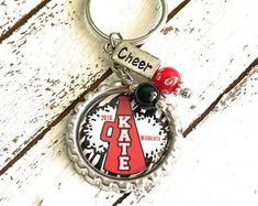 Personalized Photo Key Chains + Other Accessories by pixelilicious Best Friend Gifts, Gifts For Friends, Gifts For Her, Teen Gifts, Gifts For Teens, Gifts For Sports Fans, Cheerleading Gifts, Personalized Gifts, Handmade Gifts