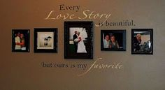 Every love story is beautiful, but ours is my favorite...