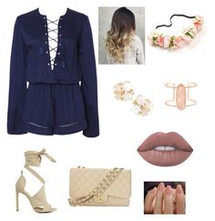 """Untitled #22"" by serays ❤ liked on Polyvore featuring Chanel, Lime Crime, Kendra Scott and Kate Spade"