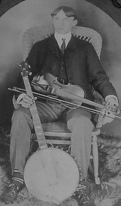 Banjo and fiddle and cool socks.