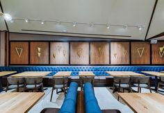 We supplied the table tops for Kyirisan to help create a cozy space. See how Chef Tim Ma is cooking cuisine in this Modern-American restaurant.