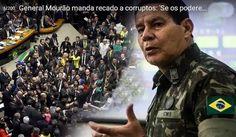 O General de Exército na ativa Antônio Hamilton Martins Mourão tem todo direito de exercer sua liberdade de expressão e manifestar a defe...