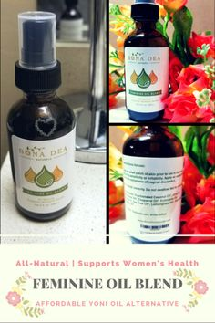 """This Feminine Spray With Essential Oils Is a Must-Have for Good Hygiene   If you're familiar with Yoni Oil, then you'll love this alternative Feminine Oil Blend from Bona Dea Naturals; it's just as effective and more affordable. For those not familiar, Yoni Oil is """"the ultimate female healing and preventative oil formula! It is the answer to ALL female complaints and maladies"""" (source).    It's basically an all-purpose product for optimal feminine hygiene and vaginal health. It can combat…"""