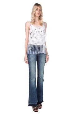 Esse é seu Estillo ? copie o look!   Calça Jeans Carol Efeito  MAIS DETALHES!  http://imaginariodamulher.com.br/look/?go=2c8ErtW