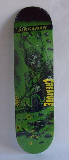 Shape Skate Creature Bingaman 8.375in X 32in - R$ 253,00 no MercadoLivre