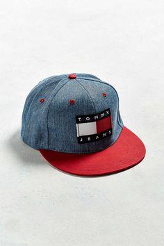 83b234aab8da Tommy Jeans For UO  90s Denim Baseball Hat