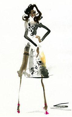 An illustration by Japanese artist Miyuki Ohashi.