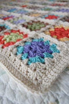 Crochet blanket, | http://cuteblankets.blogspot.com