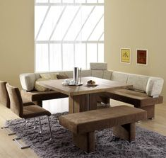 very nice could be in formal dining not in the cornerin kitchen table benchdining - Dining Room Corner Bench