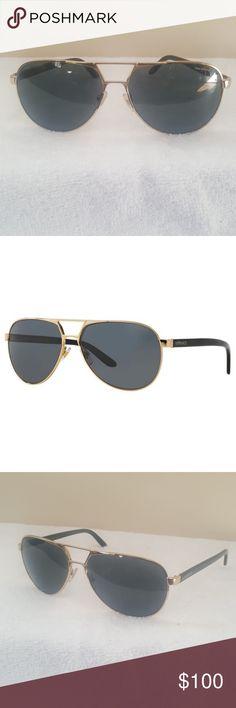 258e1d93de6a Versace Mens Polarized Aviator Sun glasses