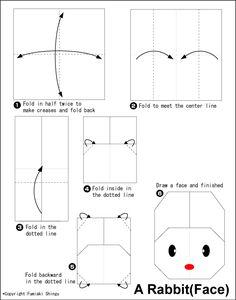Origami Rabbit 2 (Face)