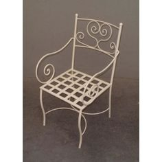 Chair Wrought Iron. Customize Realizations. 475 Outdoor Chairs, Outdoor Furniture, Outdoor Decor, Chair Bench, Wrought Iron, Chalk Paint, Home Decor, Decoration Home, Room Decor