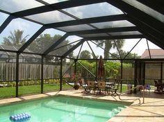 17 Screened Pools Ideas Screened Pool Pool Patio Florida Pool