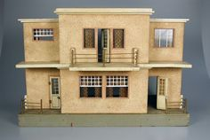 104.816: Bauhaus Dollhouse | dollhouse | Dollhouses | Toys | Online Collections | The Strong