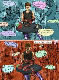 The Knitter. The non-existent, totally fan-made DC villain :D